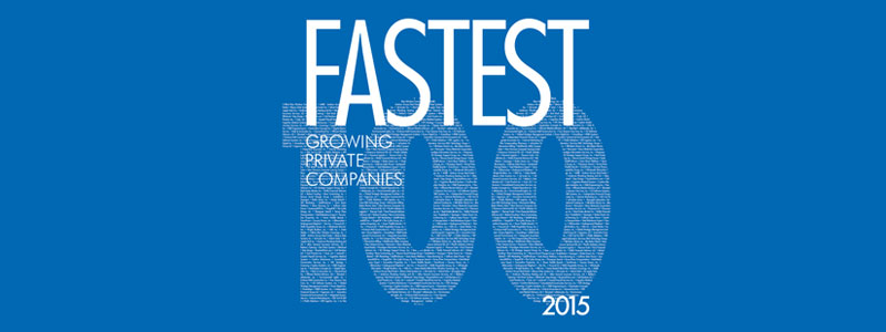 fastest 100 privately growing companies